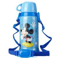 迪士尼  Disney 保温杯500ML不锈钢真空杯子 学生水杯儿童防漏5658 蓝米奇