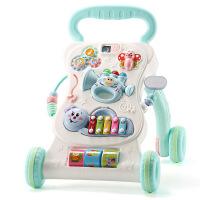 宝宝学步车带手推车多功能 7-18个月1岁男女孩宝宝助步车玩具