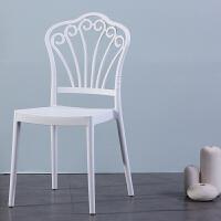 【品牌特惠】简约现代北欧餐椅创意靠背椅子家用餐厅椅酒店椅时尚塑料椅办公椅