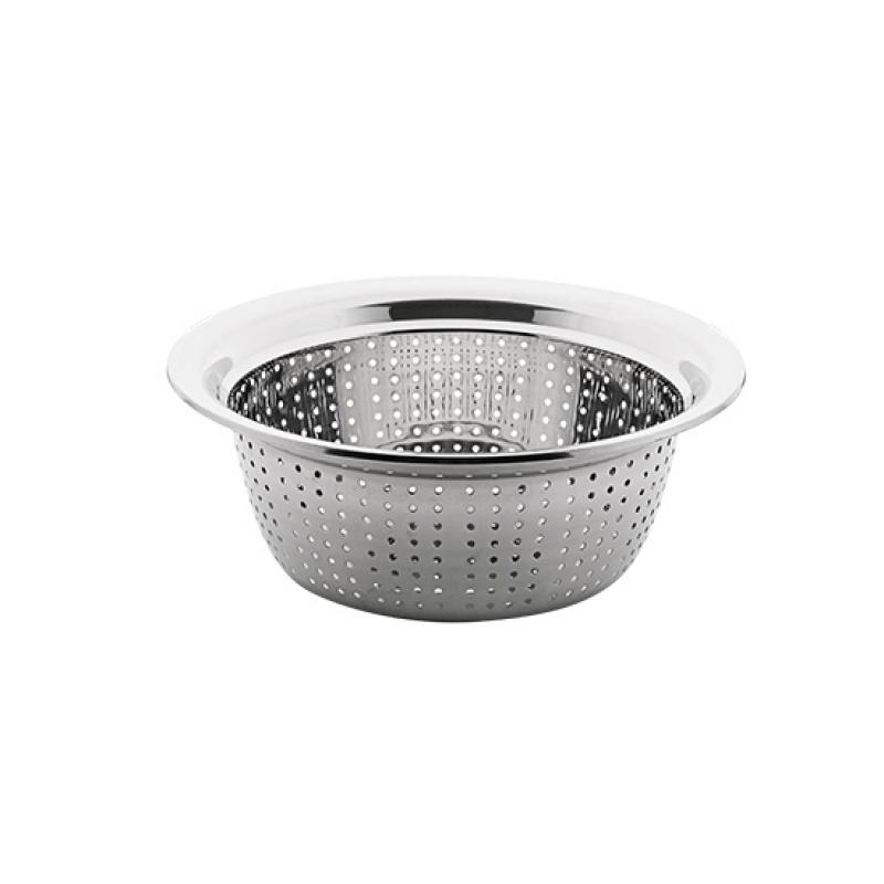 不锈钢盆家用厨房圆形洗菜盆 不锈钢盆子洗菜篮漏盆沥水篮
