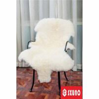 羊皮毛沙发垫毯子地毯皮毛一体坐垫床边褥子飘窗羊毛垫x定制