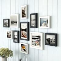 简约现代照片墙装饰创意个性相框墙客厅餐厅挂墙组合连体挂相片墙情人节礼物