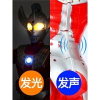 奥特曼泰罗玩具大号发光男孩变形人偶武器套装组合