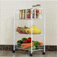 厨房置物架收纳架蔬菜置物架水果收纳架杂物架加粗防锈蔬菜置物篮