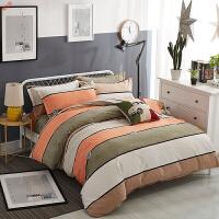 新品加厚磨毛四件套网红双人被套床单1.8m床上用品简约秋冬季定制