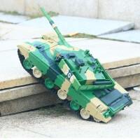 童励遥控坦克 大型充电对战坦克玩具遥控车汽车坦克模型男孩玩具