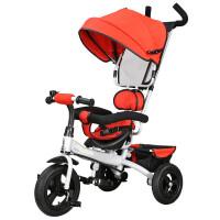 儿童三轮车手推车1-2-3-5岁小孩充气脚踏自行车zf05