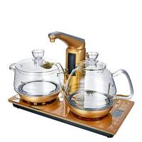 包邮电热水壶 金灶 G6 全智能自动上水电热水壶玻璃茶艺炉煮茶器茶具