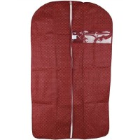 万波龙 加厚透明窗防尘罩 服装罩 西服罩 西服收纳 小号60*90cm 买10送1
