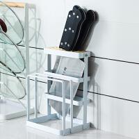 日式铁艺架厨房用品锅盖置物架创意家用砧板具收纳架子 铁艺刀架