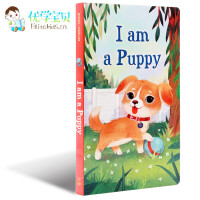 现货 I Am a puppy 我是一只小狗 I am a bunny同系列英文原版绘本 名家 richard sca