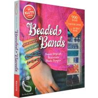 Beaded Bands 英文原版 Klutz 手工Diy制作 手链饰品 儿童益智 亲子互动活动书