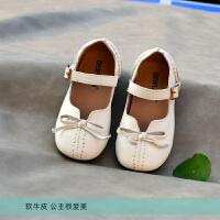 女童单鞋宝宝公主鞋软牛软底礼仪鞋童鞋演出鞋