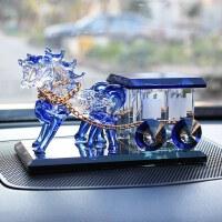 汽车马车香水摆件座式车载车用香水座男士香水瓶车内除异味摆件