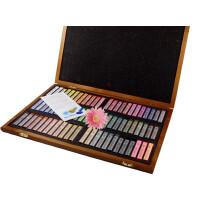 好吉森鹤/ 盟友72色色粉笔/作品用彩色色粉画笔/ 木盒套装彩粉画笔/色粉画笔--------------1套色粉笔4