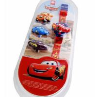 迪士尼 卡通儿童手表89001-20 麦坤跳字换盖/蓝色米奇/玩具总动员手表 1个装