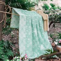 夏季全棉毛巾被 单人双人加厚纯棉双层纱布毛巾毯儿童午睡空调毛毯子空调被夏凉被