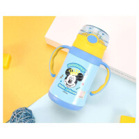 儿童保温杯304不锈钢吸管杯小学生水壶宝宝男女幼儿园水杯