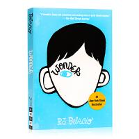 Wonder书奇迹男孩英文版原版小说 R.J. Palacio青春励志书籍纽约时报畅销书国外进口英语原版书籍全英文版畅销
