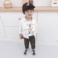 童装男童外套春秋装2018新款韩版休闲宝宝长袖上衣男孩夹克衫婴儿YW-MY-18