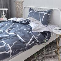 宿舍三件套大学生单人女床上被套床单被罩被褥套装六件套j定制