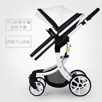 婴儿推车轻便高景观童车双向可坐可躺宝宝车避震折叠手推车a327zf10