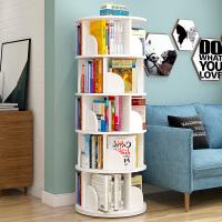 旋转书架小置物架宝宝儿童绘本架简易家用简约落地学生360度书柜