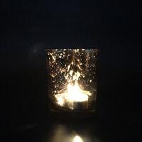 香薰蜡烛玻璃杯烛台 求婚表白生日烛光晚餐浪漫烛台