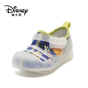 【达芙妮超品日 2件3折】迪士尼童鞋网布拼接透气舒适一脚蹬男童儿童休闲鞋