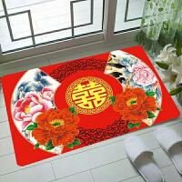 红地毯进门垫门垫地毯可定做地垫结婚地垫红色定制