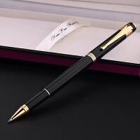 HERO英雄笔55黑色镀金宝珠笔/签字笔 礼品笔/可刻字