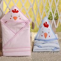 婴儿包被 新生儿 春夏秋 卡通毯子 宝宝空调被薄MY-01 90*90(cm)