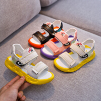 儿童凉鞋女童鞋子夏季时尚沙滩鞋2019新款中大童韩版软底鞋男童凉鞋