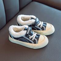 回力童鞋旗舰店儿童棉鞋女童鞋子0冬季新款男童加厚加绒帆布鞋