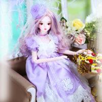 芭比娃娃 新年礼物 精品 德必胜娃娃梦幻系列新品60cm 改装娃娃玩具bjd换装娃娃送女友礼物 苏格60cm