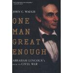 One Man Great Enough(ISBN=9780156034630) 英文原版