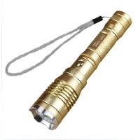 户外迷你手电筒 充电 远射 家用Q5骑行5W强光手电筒