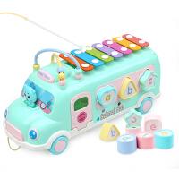 儿童八音手敲琴个月宝宝益智乐器玩具1-2-3周岁婴儿敲打音乐