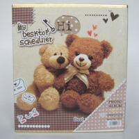 相册 泰迪熊相册影集 盒装相册 4D/大6寸相册 48张