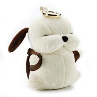 个性创意卡通小狗充电宝可爱女便携萌苹果6移动电源毛绒公仔