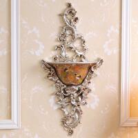 欧式壁挂壁饰花瓶墙上创意挂壁树脂挂饰家装饰品家居墙壁复古挂件 喜鹊壁挂 单瓶