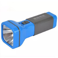 包邮雅格3896LED 高亮度耐用远射强光充电式户外手电筒