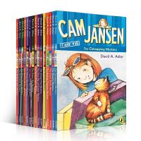顺丰发货 初级章节书Cam Jansen侦探故事第16-30部 15本套装 英文原版进口章节书The Ghostly Mystery