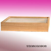 新品实木昆虫标本盒植物标本矿石岩石蝴蝶标本盒标本展示盒 长29 宽21 厚5.5cm