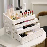 桌面收纳盒宿舍家用抽屉式网红置物架口红化妆护肤品梳妆台整理箱