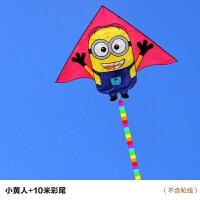 潍坊风筝大型新款微风易飞儿童蝴蝶风筝线轮立体风筝抖音