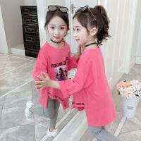 2019新款韩版洋气打底衫儿童上衣卫衣女童秋装长袖卫衣
