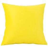 设计师搭配 北欧风格几何简约黄抱枕客厅沙发靠垫家居样板房靠枕