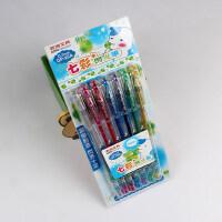 创意文具AOPO文具 GP-25A 7色闪光笔 水彩笔 荧光笔 七色套装 创意文具