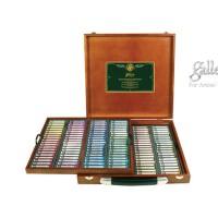 好吉森鹤/666好品质盟友色粉笔/木盒套装 200色粉画笔/绘画棒/精品彩粉画笔-----------------1套